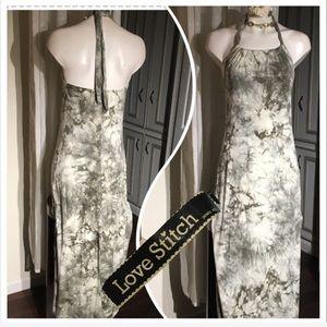 Love Stitch halter dress